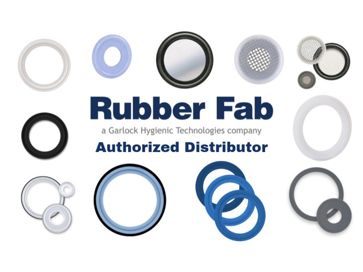 AERRE INOX new authorized distributor of Rubber Fab products